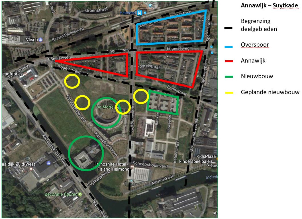 Ontwikkeling Plan Annawijk Helmond
